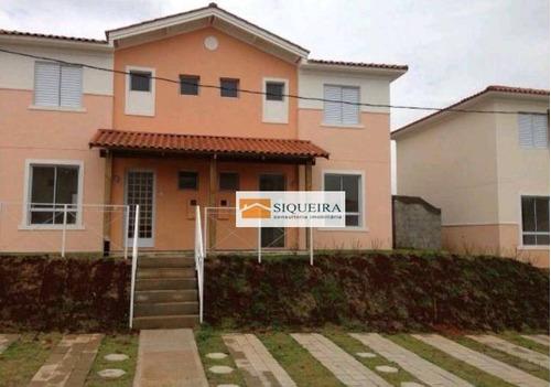 Condomínio Villa Flora - Casa Com 3 Dormitórios À Venda, 92 M² Por R$ 424.000 - Condomínio Vila Flora - Sorocaba/sp - Ca0902
