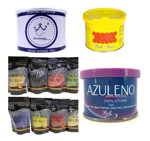 Konsung Tipo Miel Perla/depilacion/depilar/miel/pro Wax