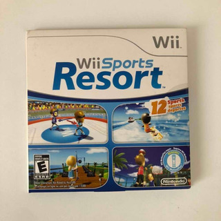 Wii Sports Resort Mídia Física Original Nintendo
