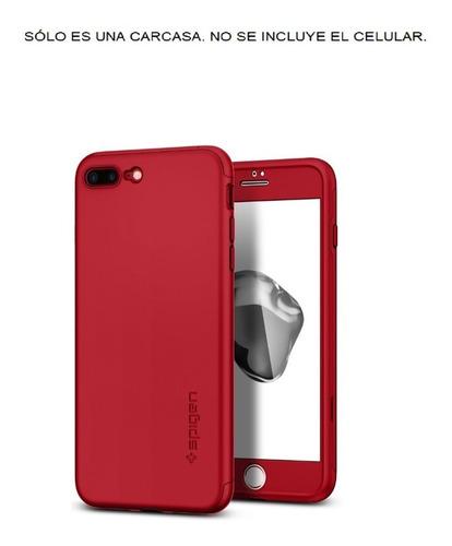 Apple iPhone 7 Plus Spigen Thin Fit 360 Carcasa Funda Case