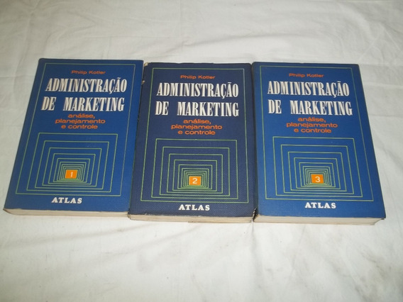 Administração De Marketing 3 Volumes Philip Kotler