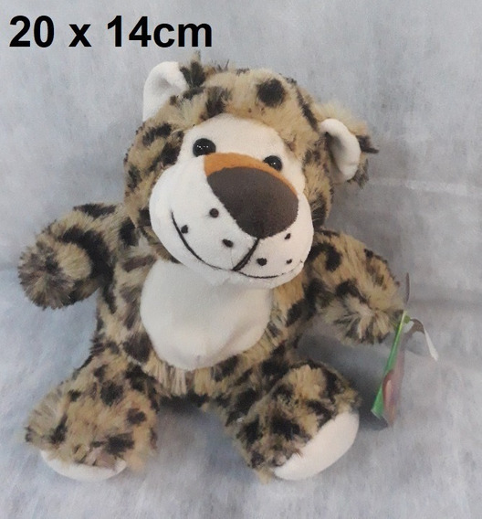 Tigre Pelúcia 20 X 14 Cm Safari Selva Presente Dia Crianças