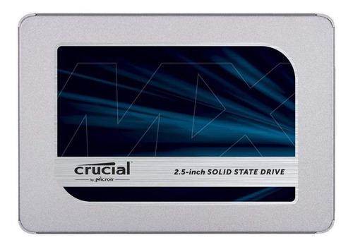 Disco sólido SSD interno Crucial CT500MX500SSD1 500GB