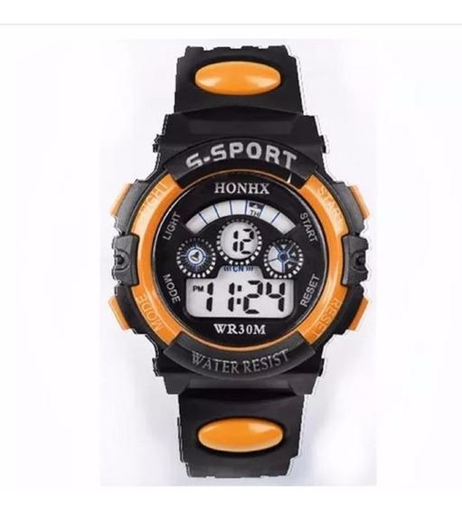 Relógio Pulso Digital Led Infantil Masculino - Promoção