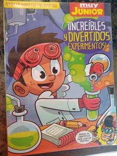Libro Muy Interesante Junior Ciencia Y Experimentos