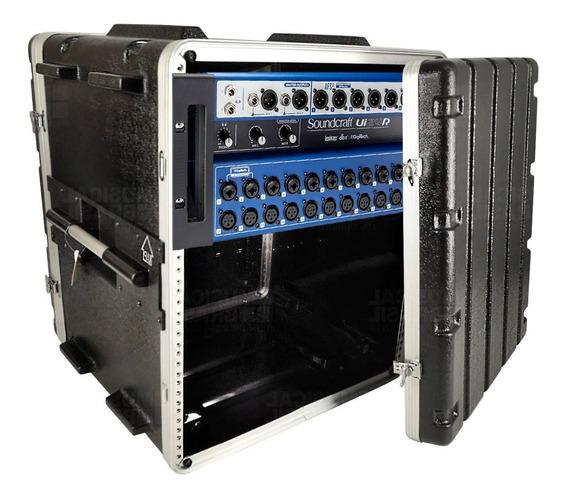 Mesa De Som Digital Ui 24r Soundcraft + Rack 10u
