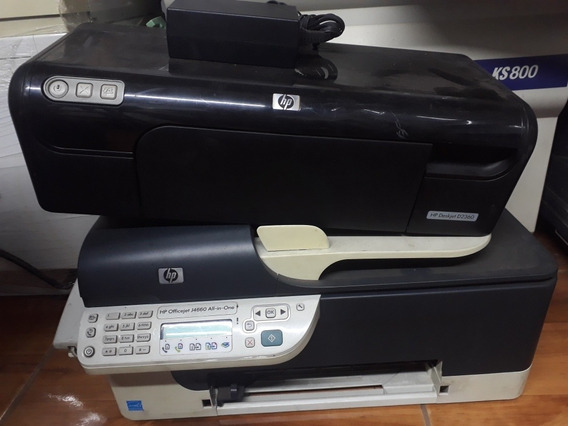Impressoras Hp No Estado( Officejet J4660 E Deskjet D2360)
