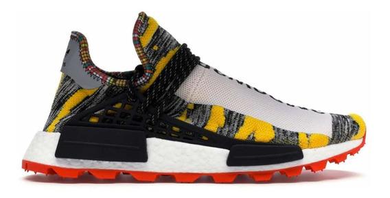 Sneakers adidas Nmd Hu Pharrell Solar Pack Red Originales
