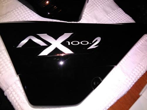 Tapas Laterales Ax100 Negras