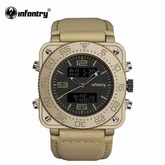 Reloj Infantry Tank Gold Militar - Edition Limited