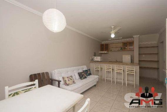 Flat Com 1 Dormitório À Venda, 46 M² Por R$ 350.000 - Riviera De São Lourenço - Bertioga/sp - Fl0039