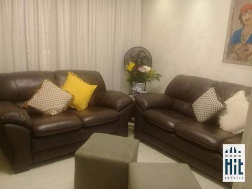 Apartamento À Venda, 74 M² Por R$ 450.000,00 - Vila Gomes Cardim - São Paulo/sp - Ap3813