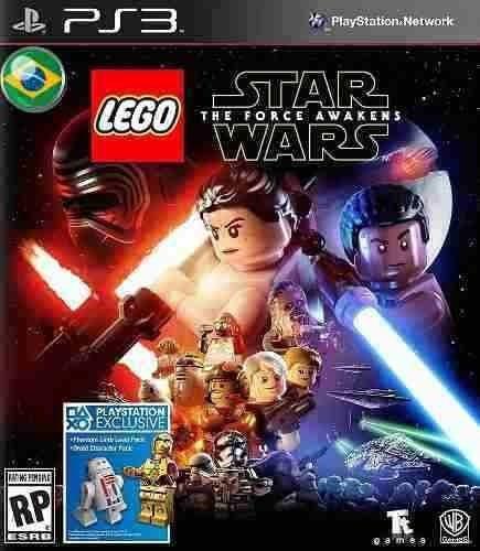 Lego Star Wars O Despertar Da Força - Jogos Ps3 Portugues