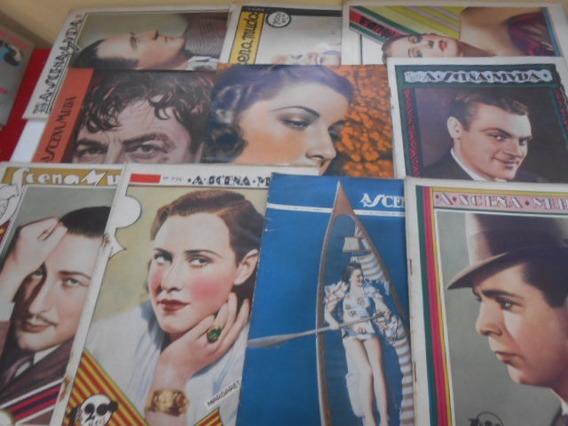 A Scena Muda Lote Com 10 Revistas Compre Já Único No Ml