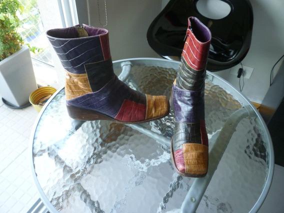 Botas Cortas De Cuero--n 39----excelentes!!!!!