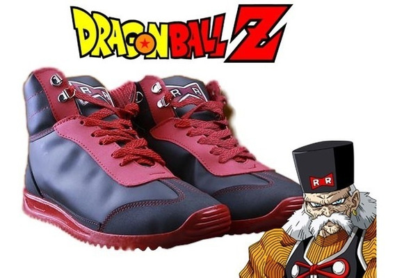 Tenis Niño Rr Dragon Ball Z Originales Toei Red Ribbon