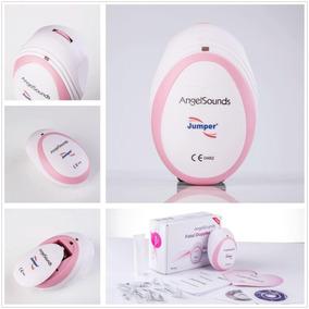 Monitor Doppler Fetal Angel Sounds + Bateria + Gel 2- Cores