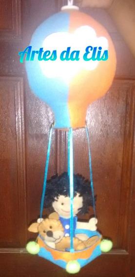 Balão Em Feltro Enfeite De Porta