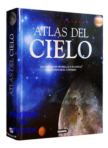 Libro Atlas Ilustrado Del Cielo ,planeta,