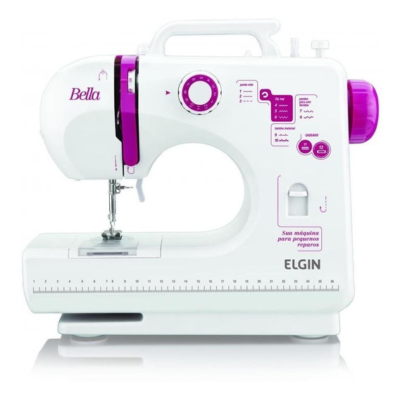 Máquina de costura Elgin Bella BL-1200 110V/220V (Bivolt)