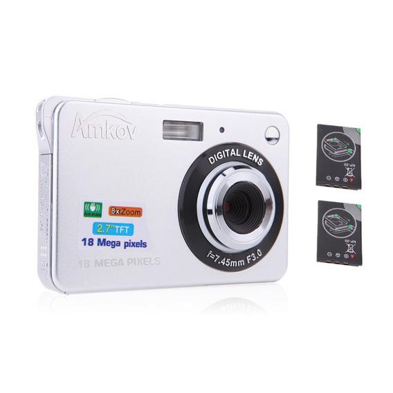 Compacto Hd Digital Câmera Vídeo Camcorder 18mp 2.7 Tft 8x