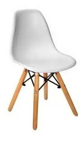Cadeira Infantil Branca Charles Eames Kids