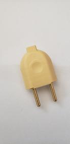 Conector Macho Para Exntesão 10a 250v (kit Com 5)