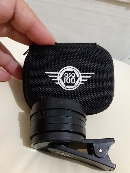 Lente 10mm Asa 100 Novíssima Para Celular