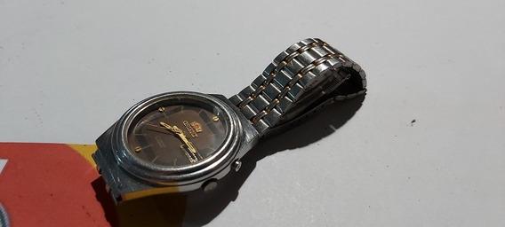 Relogio Orient Automático, Duplo Calendário Usado 36,5mm.