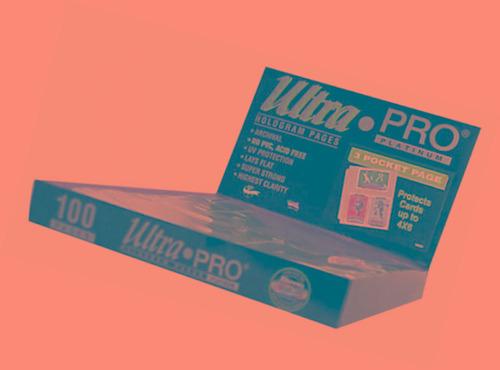 Imagen 1 de 1 de Fotos De Ultra Pro 3-pocket Platino Página 4  X 6  100 Ct.