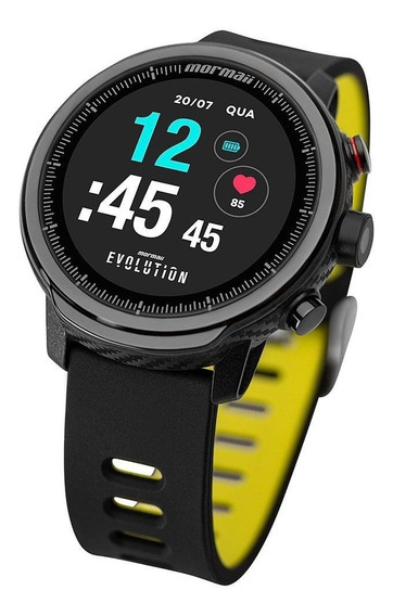 Relógio Smartwatch Mormaii Evolution Masculino Mol5aa/8y