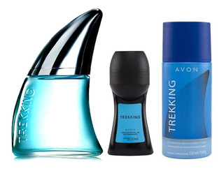 Avon Trekking Perfume + Roll On + Deo Aerosol Mendoza