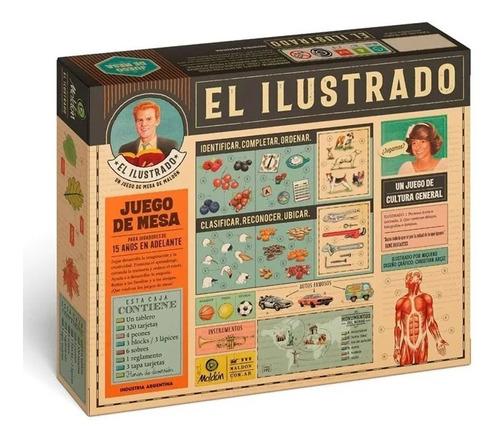 Juego De Mesa El Ilustrado Original Maldón