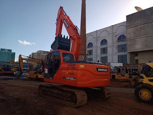 Escavadeira Doosan Dx 138 Lc 2015 Revisada E Pintada Repasse