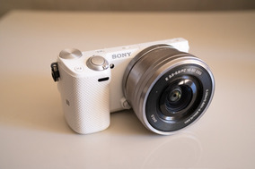 Câmera Mirrorless Sony Alpha Nex-5t Avchd 16.1 Megapixels