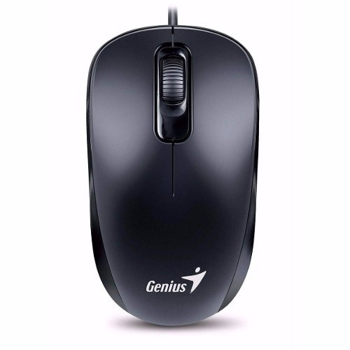 Mouse Genius Dx-110 Negro Usb 1000 Dpi Pc Gtía Black