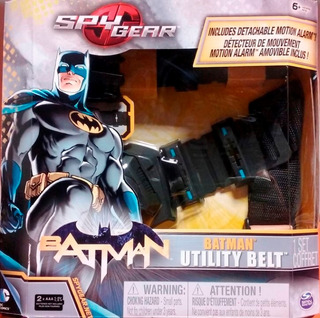 Cinturon Batman Con Sensor De Movimiento
