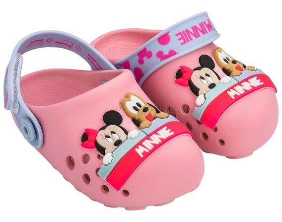 Sandália Infantil Babuche Disney Magic Grendene Kids 19 À 27