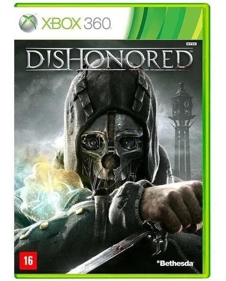 Jogo Xbox 360 Dishonored Mídia Física Original