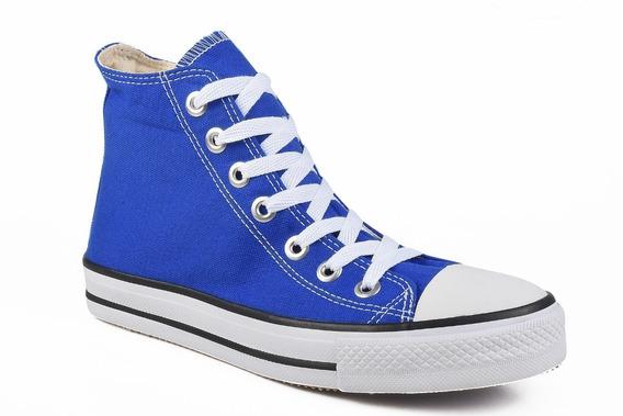 Tênis Converse All Star Chuck Taylor Hi Cano Alto Azul Royal