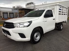 Toyota Hilux 2.7 Chasis Cabina Mt 2017 Puedo Vender Chasis