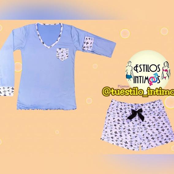Pijama Para Dormir Sueter Con Short