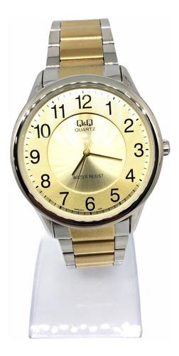 Reloj Análogo Qyq Q&q Acero Inoxidable Clásico Elegante