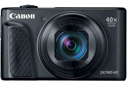 Câmera Canon Powershot Sx740 Hs 20.3mp 40x Preta 12x S/juros
