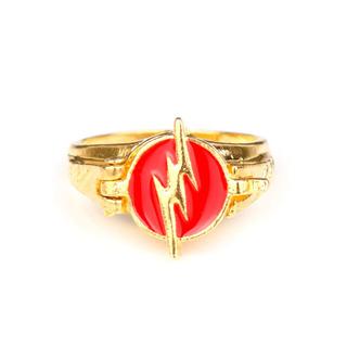 Anillo Flash - Dc Comic Superhero Barry Cisco Super Heroe