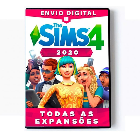 The Sims 4 + Completo 2020 + Vida Sustentável - Digital Pc
