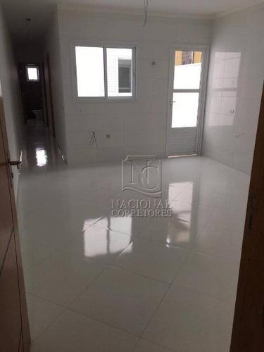 Cobertura Com 2 Dormitórios À Venda, 102 M² Por R$ 260.000,00 - Jardim Guarará - Santo André/sp - Co4860