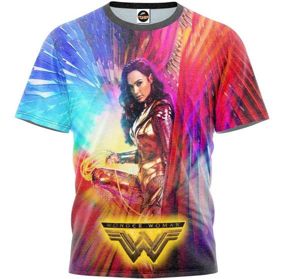 Camiseta Camisa Mulher Maravilha 84 Masculino Blusa R-001