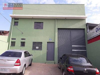 Barracão Comercial Para Locação, Loteamento Nova Espírito Santo, Valinhos. - Ba0023