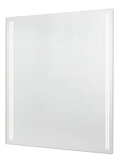 Espelho Para Banheiro Com Led Faixas 52,5x54cm